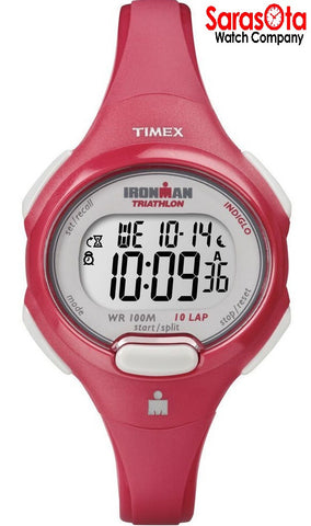 Timex T5K783 Ironman Triathlon Pinkish Orange Digital Sport Women's Watch