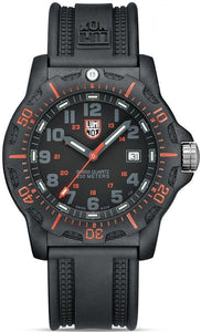 Luminox Black Ops A.8815 Black/Red Carbon Case Rubber Quartz Men's Watch