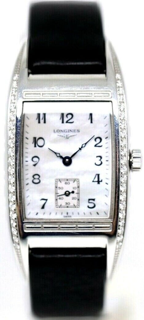 Longines L2.501.0.83.3 BelleArti Mother Pearl Dial Diamond Bezel Women's Watch - Sarasota Watch Company