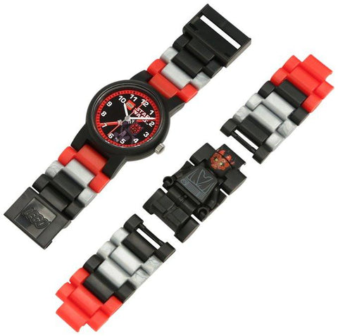 Lego 9005527 Star Wars Darth Maul w/Minifigure Plastic Kid's Watch