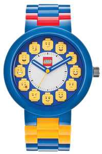 Lego 9008023 Fan Club Multi Color Face Dial Plastic Unisex Watch