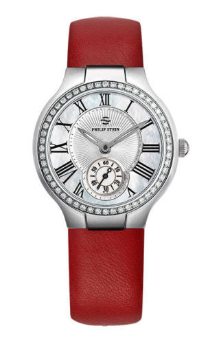 Philip Stein 41D-CMOP Classic MOP Dial Diamond Bezel Variation Women's Watch