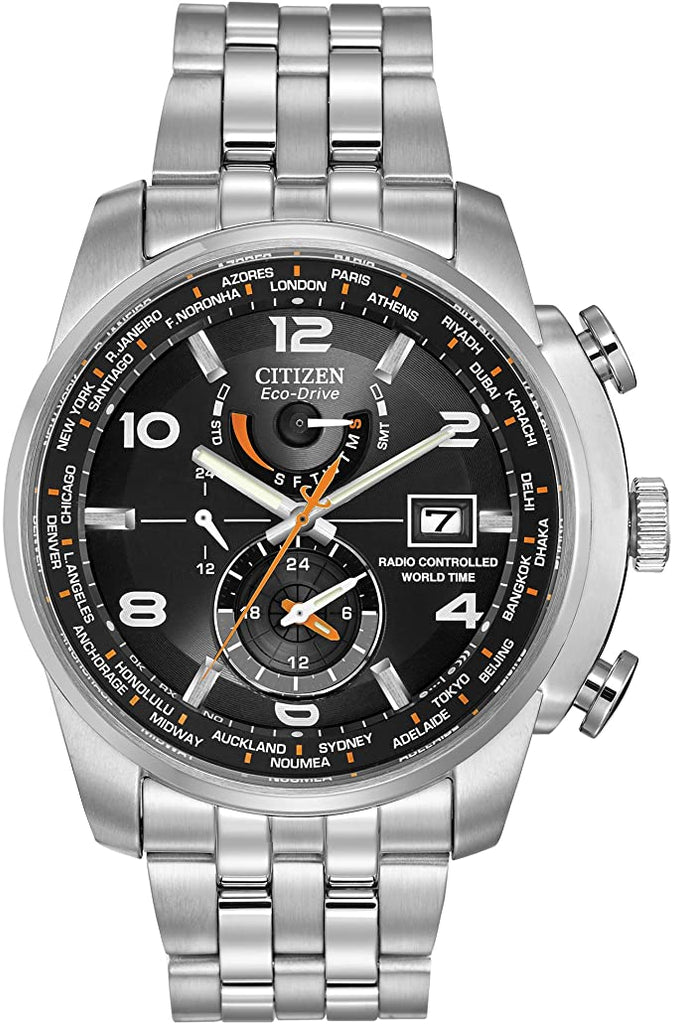 Citizen Eco-Drive AT9010-52E World Time A-T Radio Controlled Solar Men's Watch