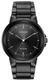 Citizen Eco-Drive BJ6517-52E Axiom Black Stainless Steel Solar Men's Watch