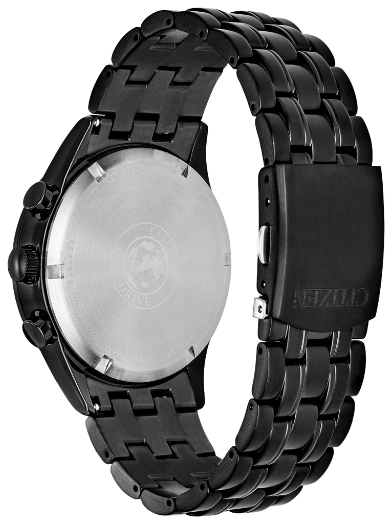 Citizen Eco-Drive CA0625-55E Chandler Black PVD Steel 42mm Solar Men's Watch