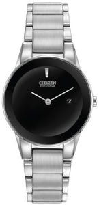 Citizen Eco Drive GA1050-51E Black Dial Stainless Steel Analog Women's Watch