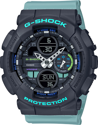 Casio G-Shock GMA-S140-2ACR Multi Color Resin Analog/Digital 200M Wrist Watch