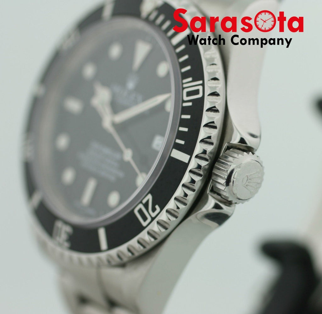 Rolex Sea-Dweller 16600  Stainless Steel Black Dial 40mm 2002 Diver Men's Watch - Sarasota Watch Company