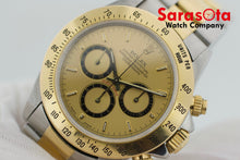 Rolex Daytona Zenith 16523 18k/Steel Champagne Dial 38mm Automatic Men's Watch