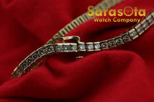 "14k Yellow Gold 3.25ct G Color VS2 7.25"" Diamond 4mm Width Tennis Bracelet"