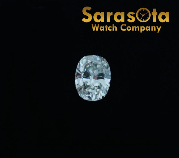 1.37 Ct Carat Oval Brilliant Loose Diamond J Color I1 Clarity GIA Certified
