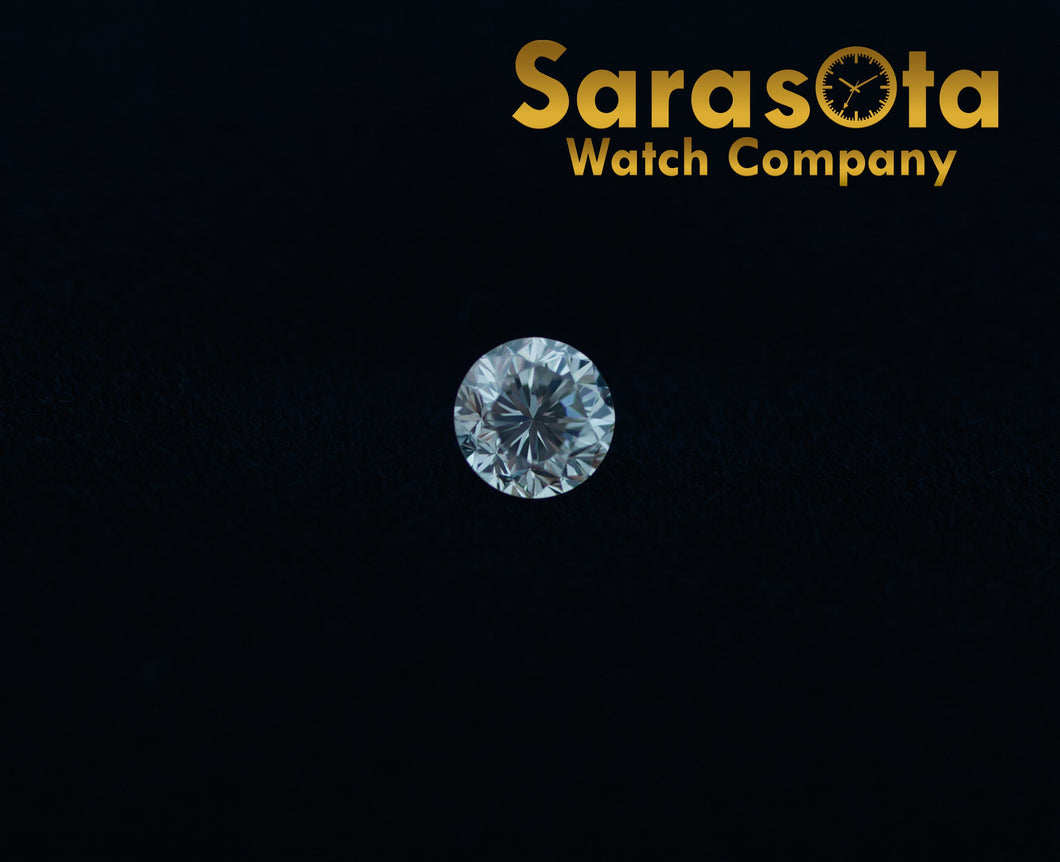 0.60 Ct Carat Round Cut Loose Diamond J Color SI2 Clarity Cut Good GIA Certified