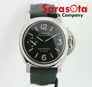 Officine Panerai Luminor Marina OP6937 8Days 46mm Manual Wind Men's Watch B/P