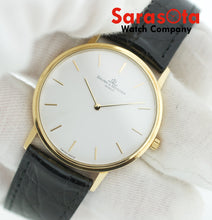 Baume&Mercier MV045088 Classima 18k Gold 32mm Black Leather Quartz Wrist Watch