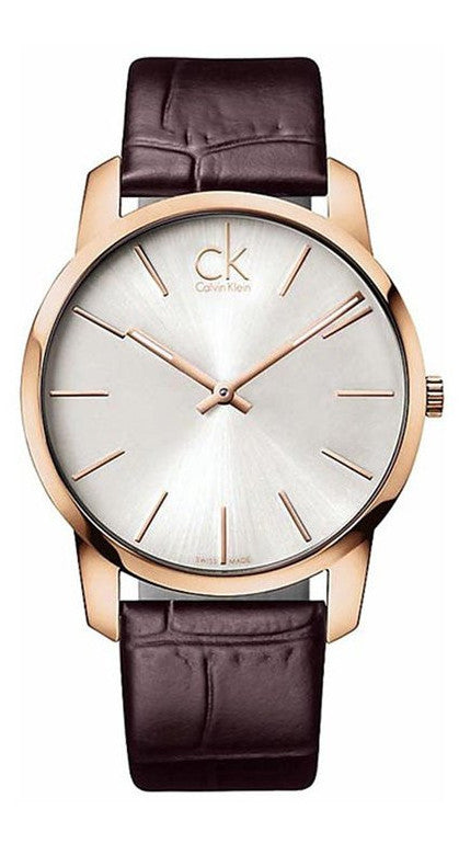 Calvin Klein K2G21629 Rose Gold Tone Stainless Steel Swiss Quartz Men's Watch