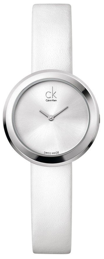 Calvin Klein K3N231L6 Firm Stainless Steel Leather Swiss Quartz Women's Watch