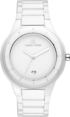 Danish Design IV62Q886 White Ceramic White Dial Ladies Watch