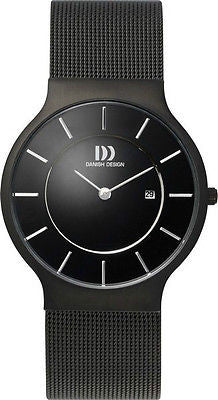 Danish Design IQ64Q732 Stainless Steel Black Color Men's Watch