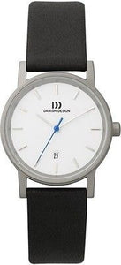 Danish Design 171 Series Titanium Case Leather Band Ladies Watch