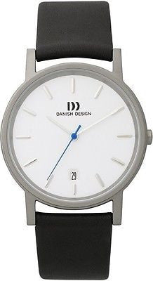 Danish Design 171 Series Titanium Case Leather Band Men's Watch