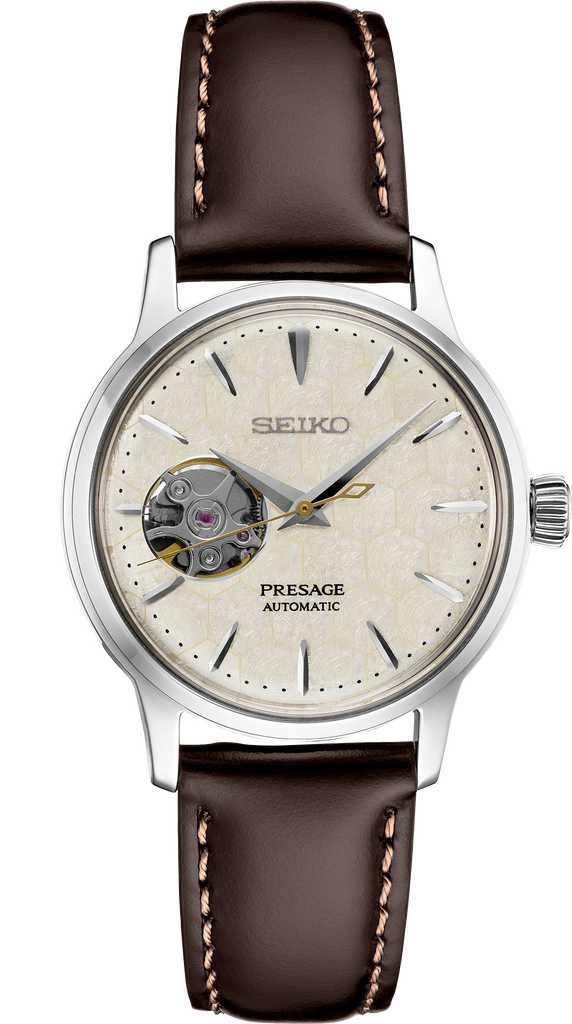 Limited Edition Seiko Presage SSA781 Honeycomb Automatic Women's Watch