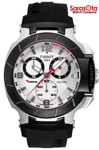 Tissot T-Race T048.417.27.037.00 Chronograph Black Rubber Quartz Men's Watch