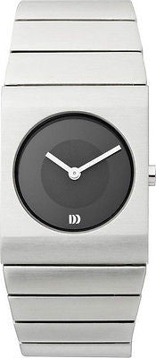 Danish Design IV63Q843 Stainless Steel Black Dial Ladies Watch by Tirtsah