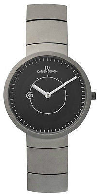 Danish Design IV63Q830 Titanium Black Color Ladies Watch by Lars Pedersen