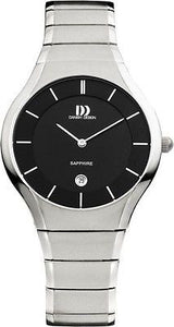 Danish Design 943 Titanium Black/White Dial Men's/Women's Watch