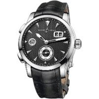 ULYSSE NARDIN DUAL TIME MANUFACTURE STAINLESS STEEL
