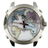 JACOB & CO. FIVE TIME ZONE STAINLESS STEEL - Sarasota Watch Company