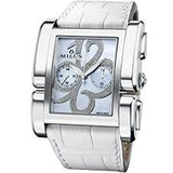 MILUS APIANA CHRONOGRAPH LADIES STAINLESS STEEL - Sarasota Watch Company