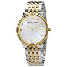 FREDERIQUE CONSTANT ULTRA SLIM GOLD PLATED