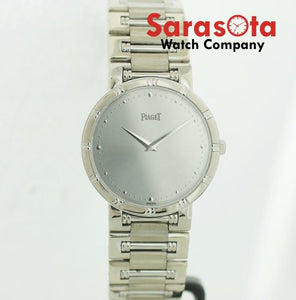 Piaget 84023 N K 81 Dancer Asprey 18K White Gold 31mm Swiss Quartz Wrist Watch
