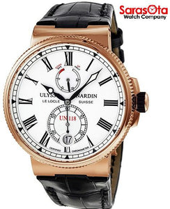 Ulysse Nardin Marine Chronometer 1186-122/40 18K Rose Gold Automatic Men's Watch