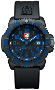 Luminox Navy Seal Colormark A.3053 Carbon Case Rubber Swiss Quartz Men's Watch