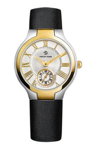 Philip Stein 41TG-CWG Classic Two Tone Stainless Steel/Gold Plated Variation Women's Watch