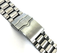 "Tag Heuer Formula I 22 mm Stainless Steel Bracelet 6"" Long"