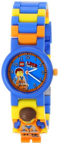 Lego 8020219 Emmet w/Figurine Plastic Kid's Watch