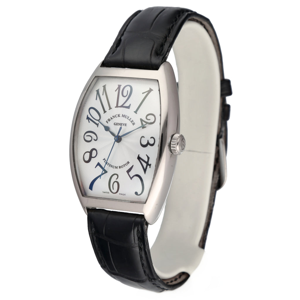 Franck Muller 6850 SC Cintree Curvex Master of Complications 18k White Gold Automatic Men's Watch