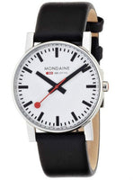 Mondaine A660.30344.11SBB Quartz Evo Black Leather Band Dressy Men's Watch