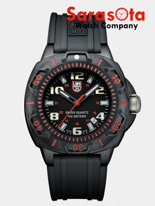 Luminox XL.0215.SL Sentry Polycarbonat Case 43mm Rubber Diver Quartz Men's Watch