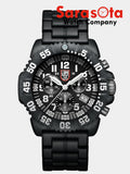 Luminox Navy Seal Colormark XS.3082 Chrono Black/White Quartz 200M Men's Watch - Sarasota Watch Company