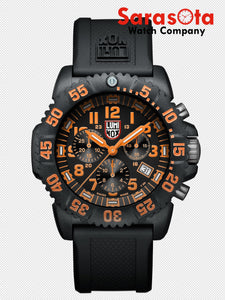 Luminox Navy Seal Colormark XS.3089 Chrono Black/Orange Quartz 200M Men's Watch