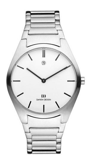 Danish Design IQ62/IQ66Q890 Stainless Steel  Date 5 ATM Men's Watch By Tirtsah