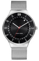 Danish Design IQ63Q1050 Mesh Stainless Steel Band Black Dial Men's Watch