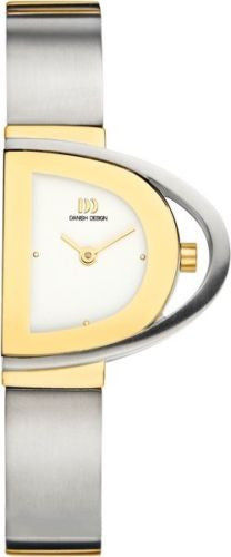 Danish Design IV65Q912 Titanium Case & Bracelet Two Tone Women's Watch