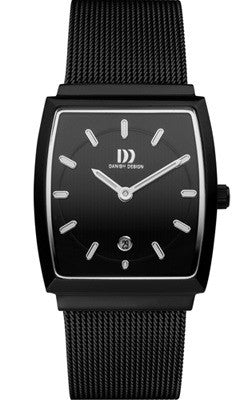 Danish Design IV64Q900 Stainless Steel Case Date Black Dial  Women's Watch