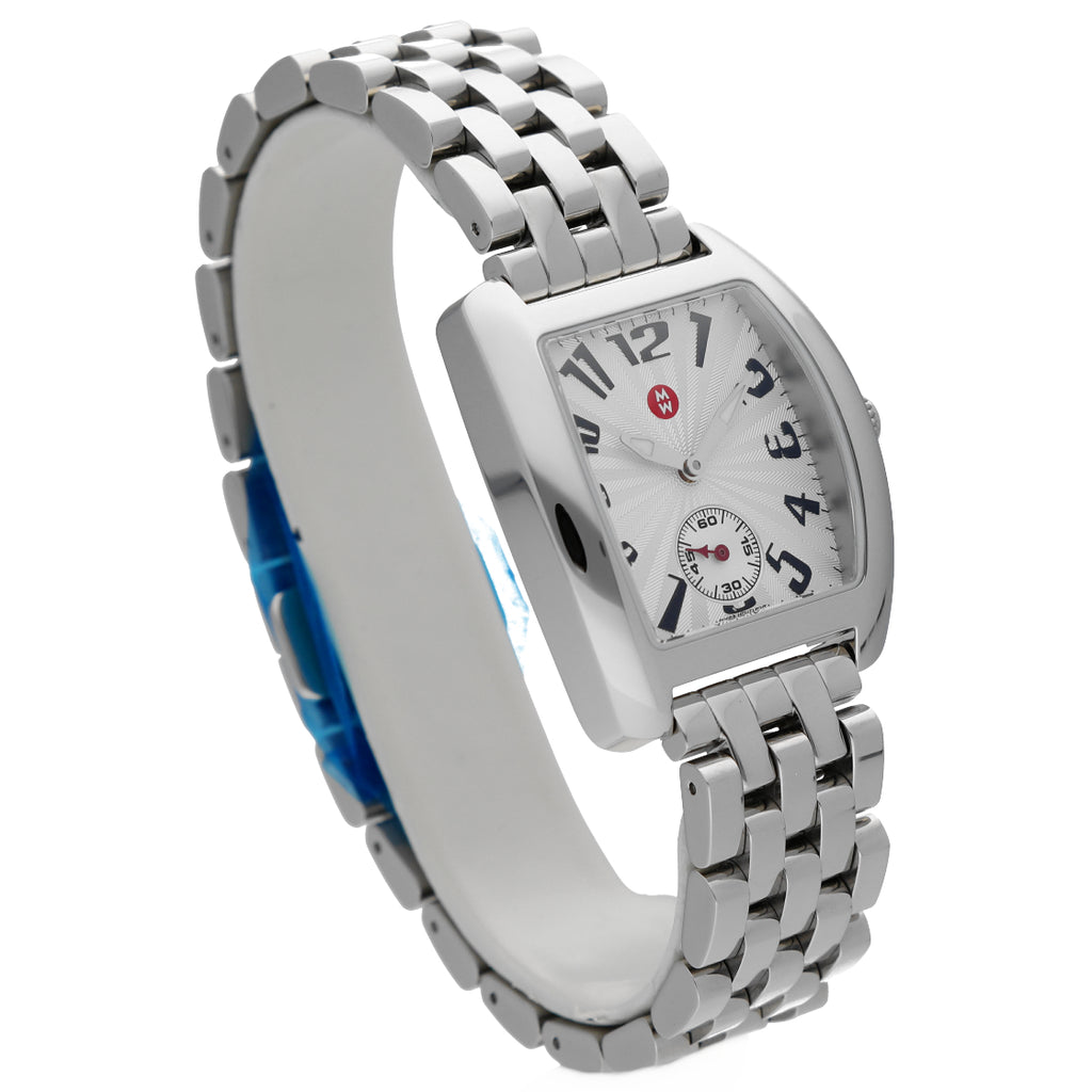 Michele MWW02A000602 Urban Mini Silver Dial Stainless Steel Band Women's Watch
