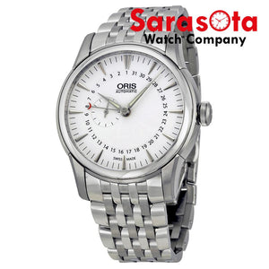 Oris Artelier 01 744 7665 4051 White Dial Stainless Steel Automatic Wrist Watch